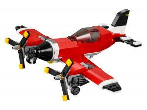 lego propellervliegtuig 31047