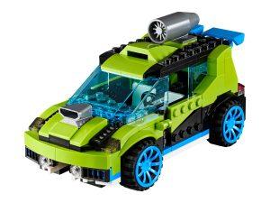 lego raketrallyauto 31074