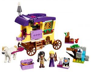 lego rapunzels caravan 41157