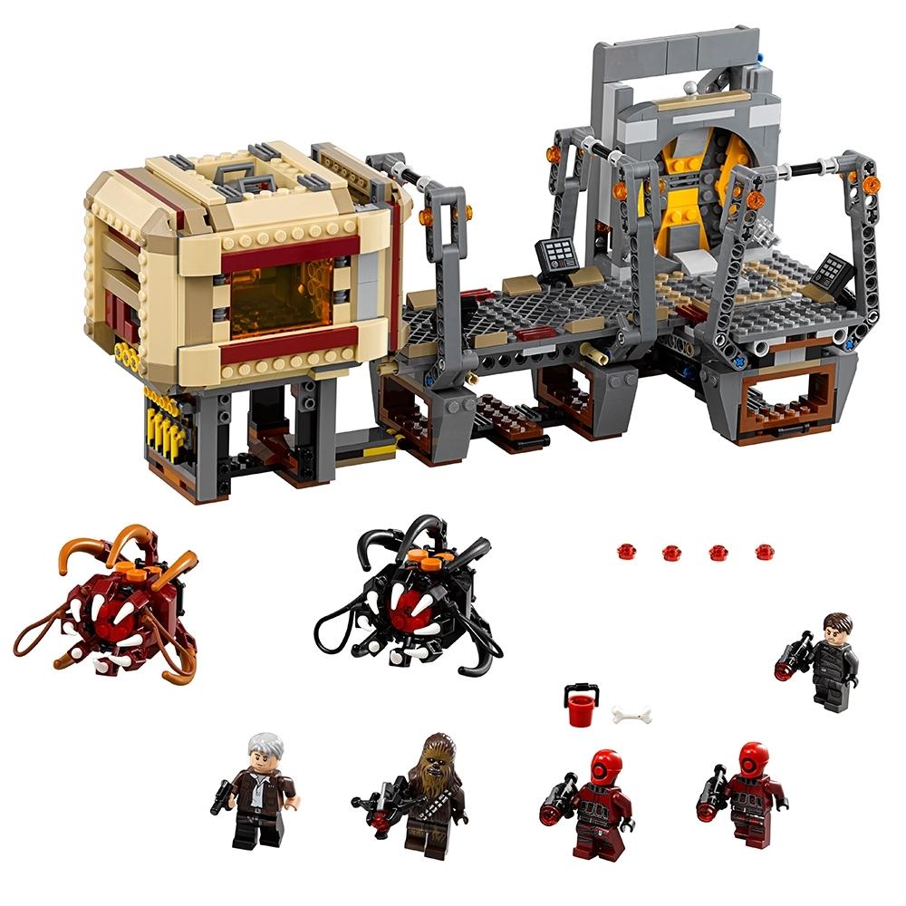 lego rathtar ontsnapping 75180