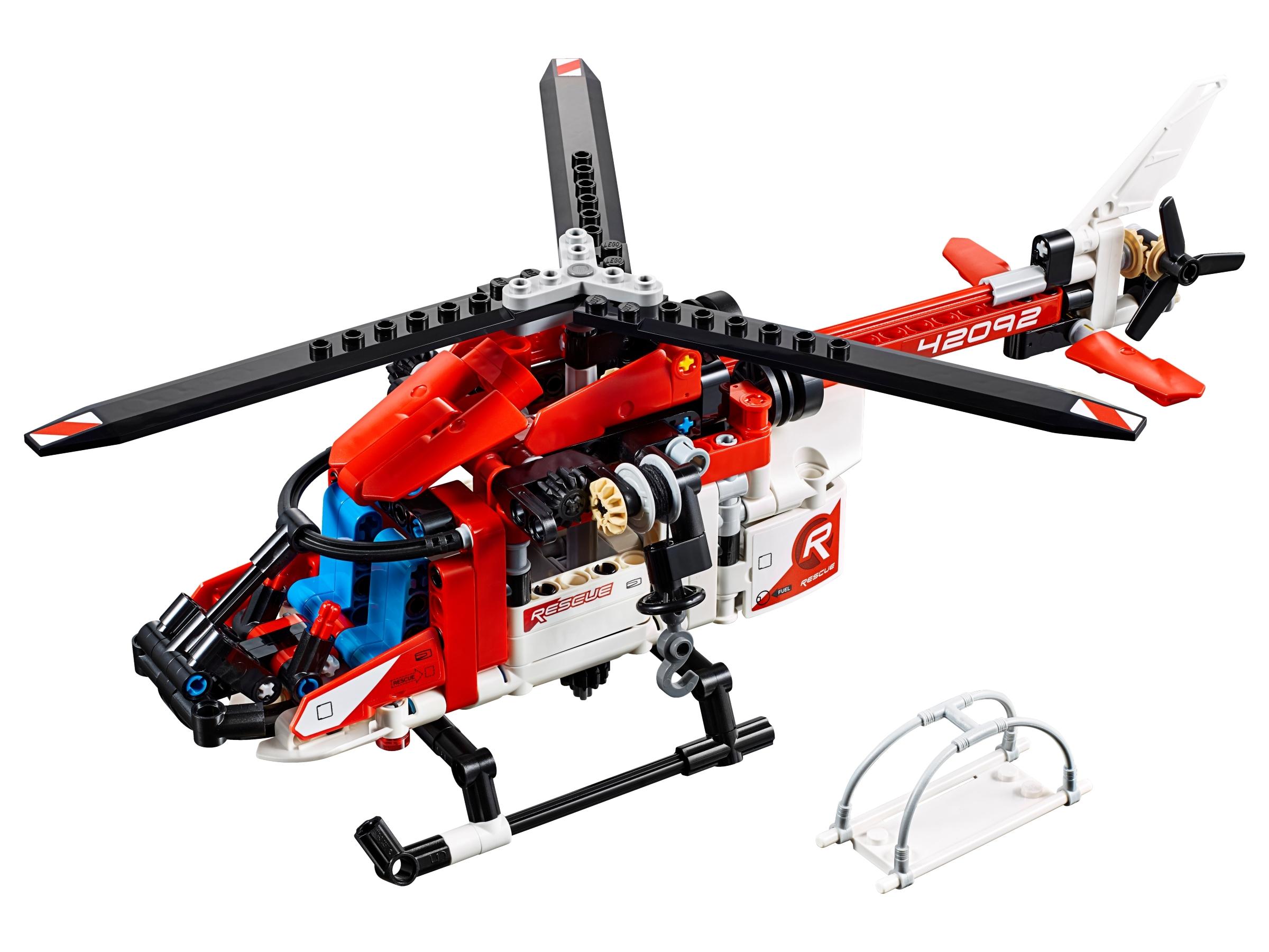 lego reddingshelikopter 42092