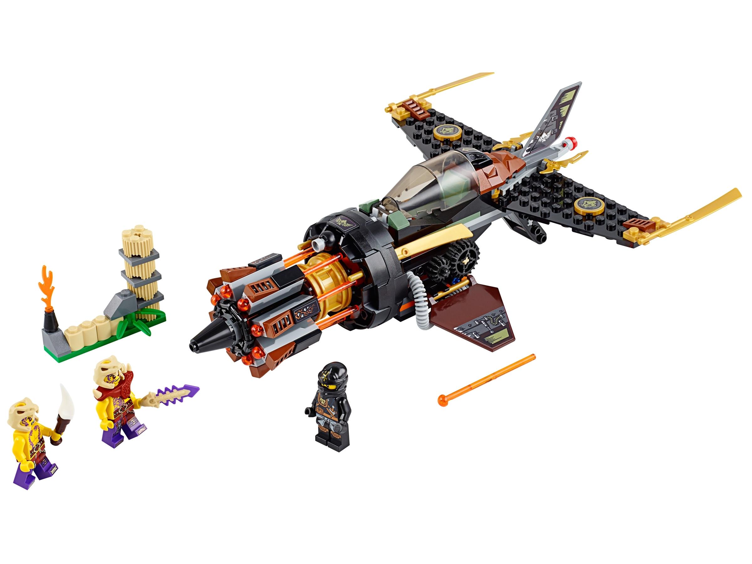 lego rotsblokblaster 70747