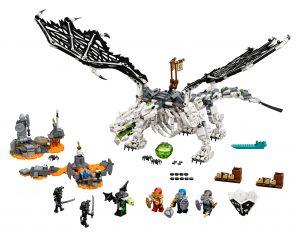 lego skull sorcerers draak 71721