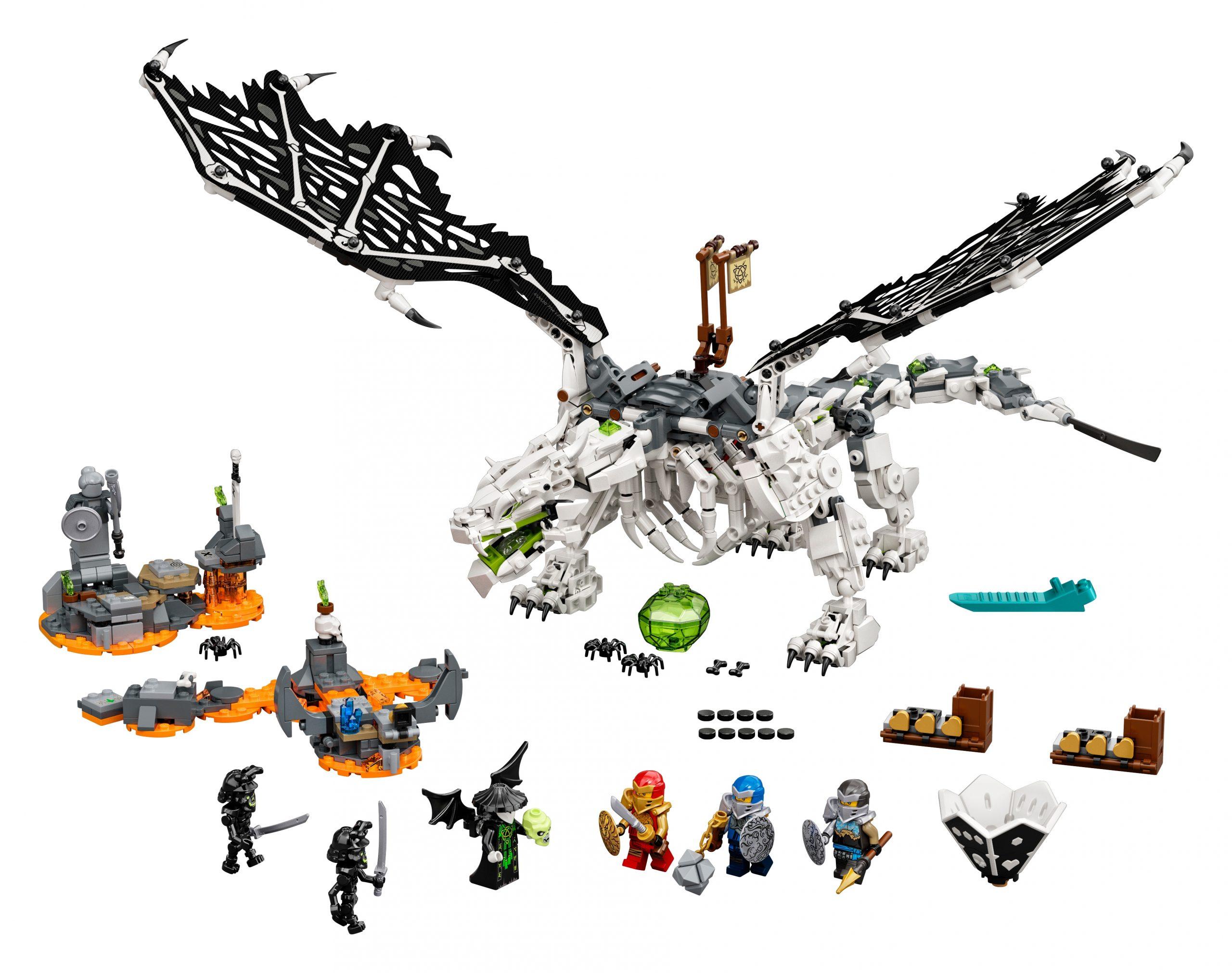 lego skull sorcerers draak 71721 scaled