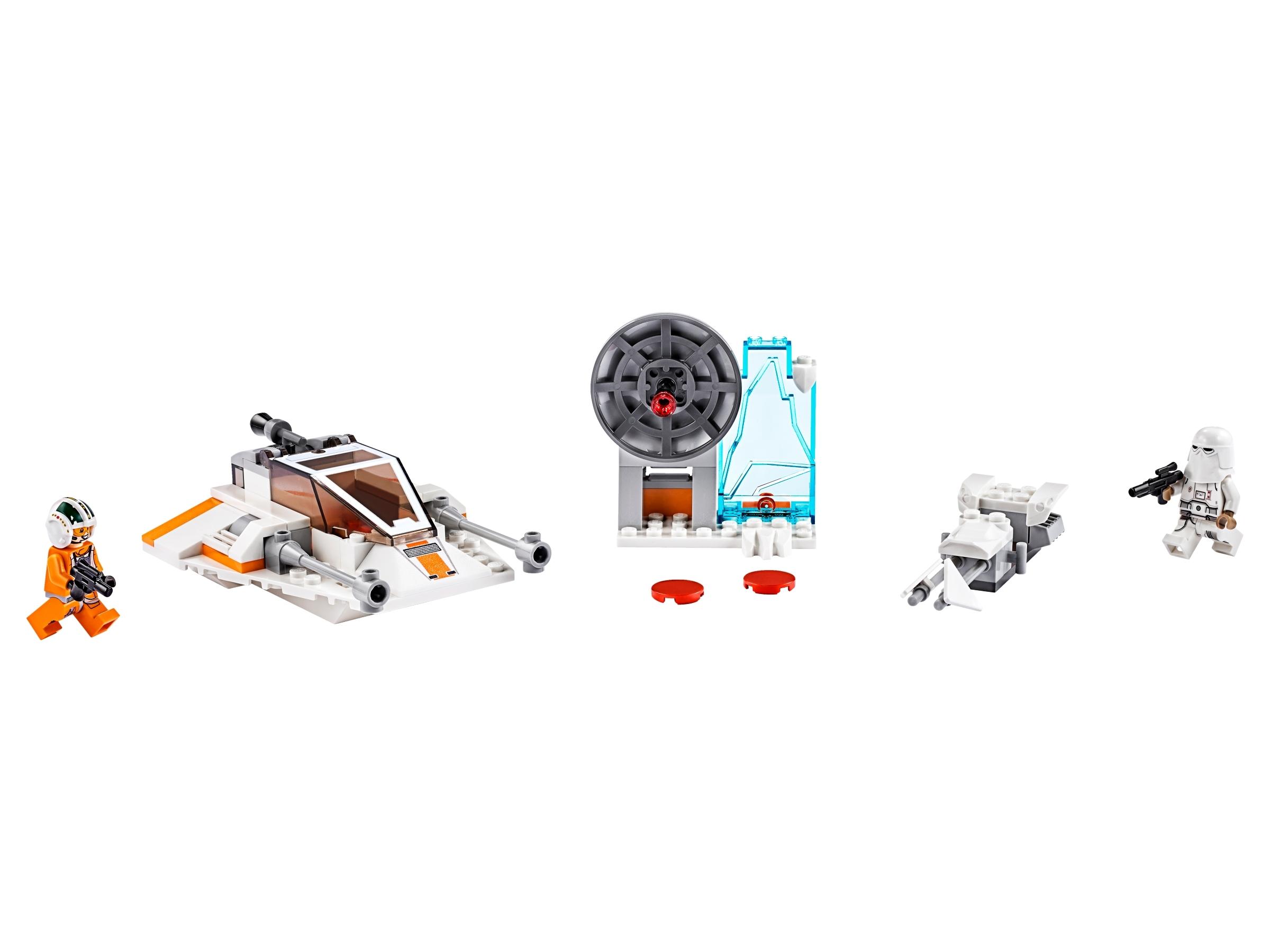 lego snowspeeder 75268