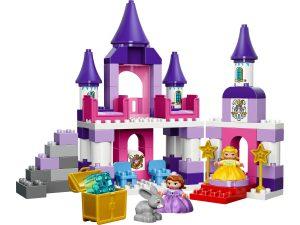 lego sofia het prinsesje koninklijk kasteel 10595