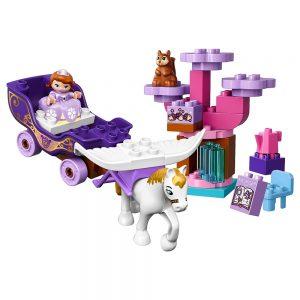lego sofia het prinsesje magische koets 10822