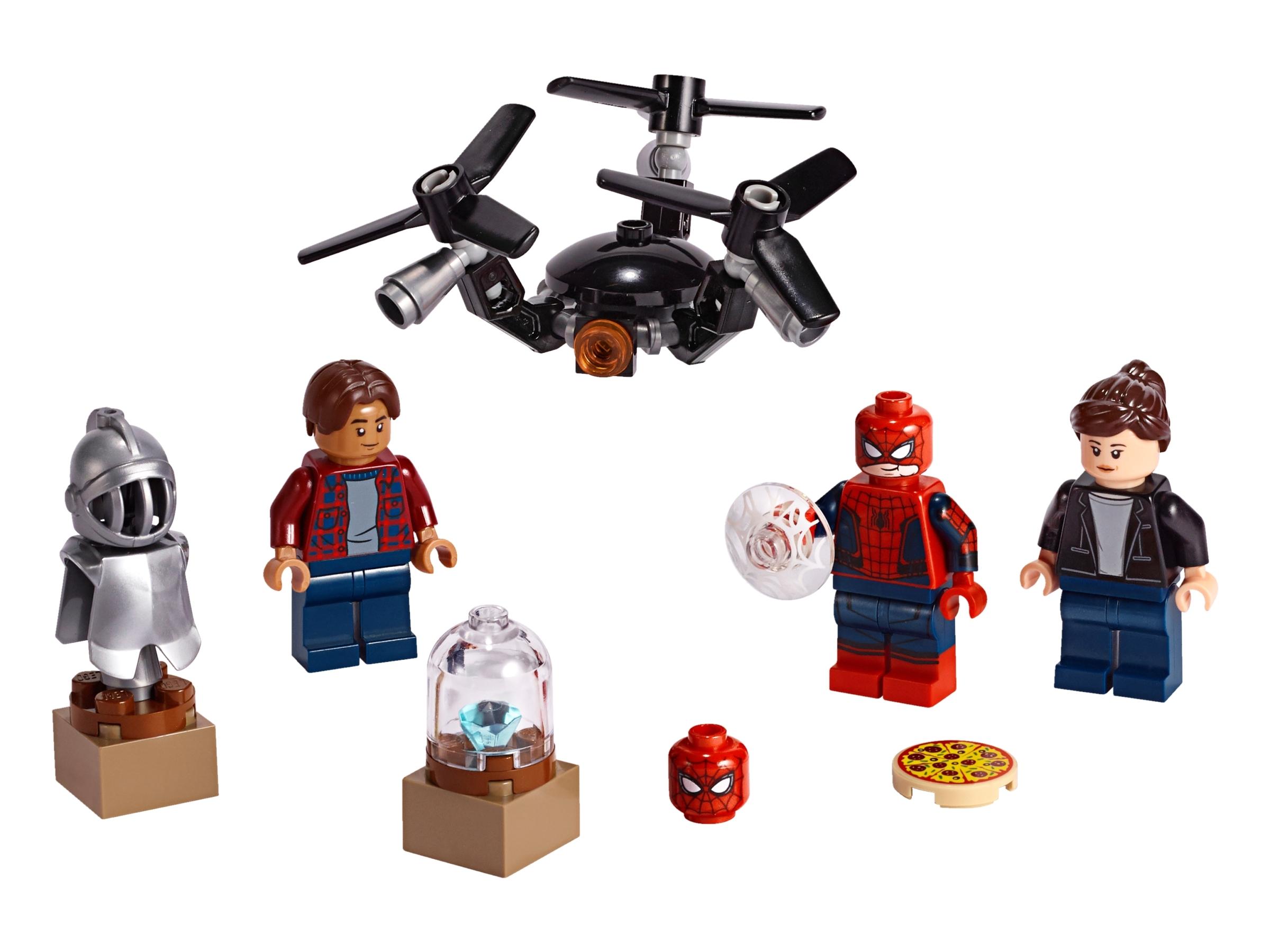 lego spider man en de museuminbraak 40343