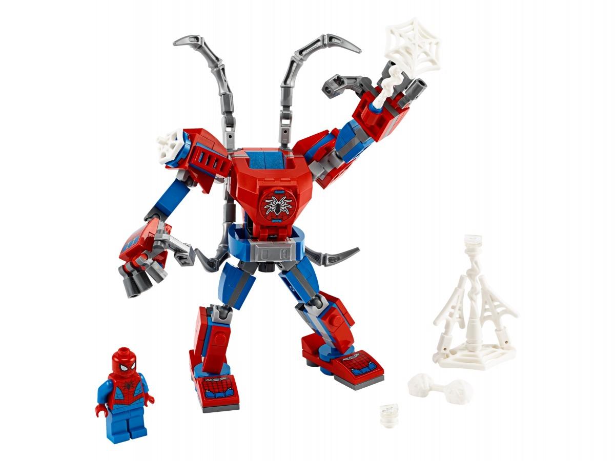 lego spider man mecha 76146
