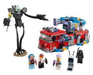 lego spookbrandweerauto 3000 70436