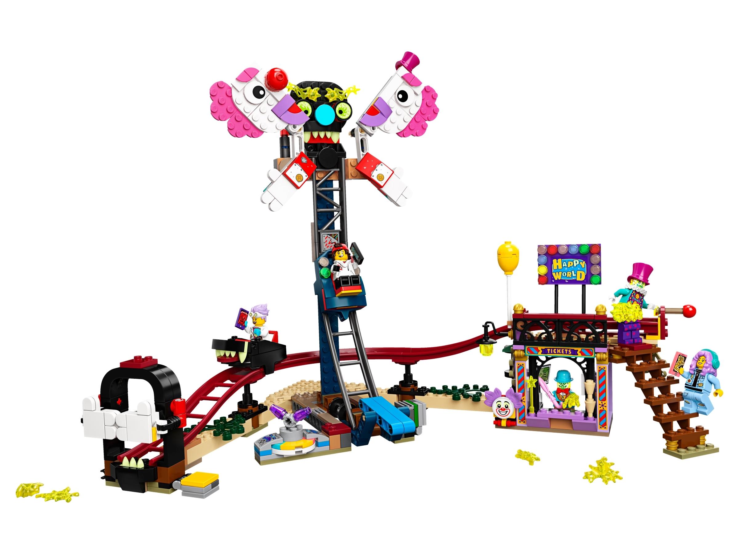 lego spookkermis 70432