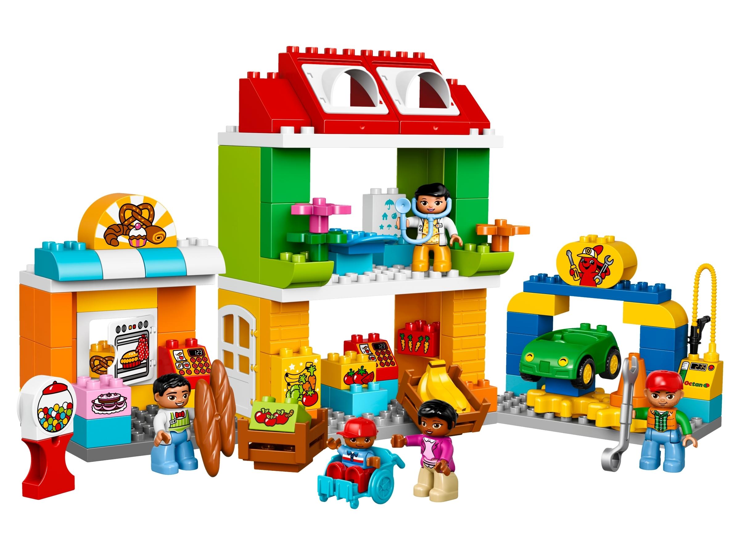 lego stadsplein 10836
