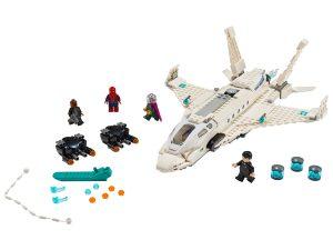 lego starkstraaljager en de droneaanval 76130