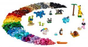 lego stenen en dieren 11011