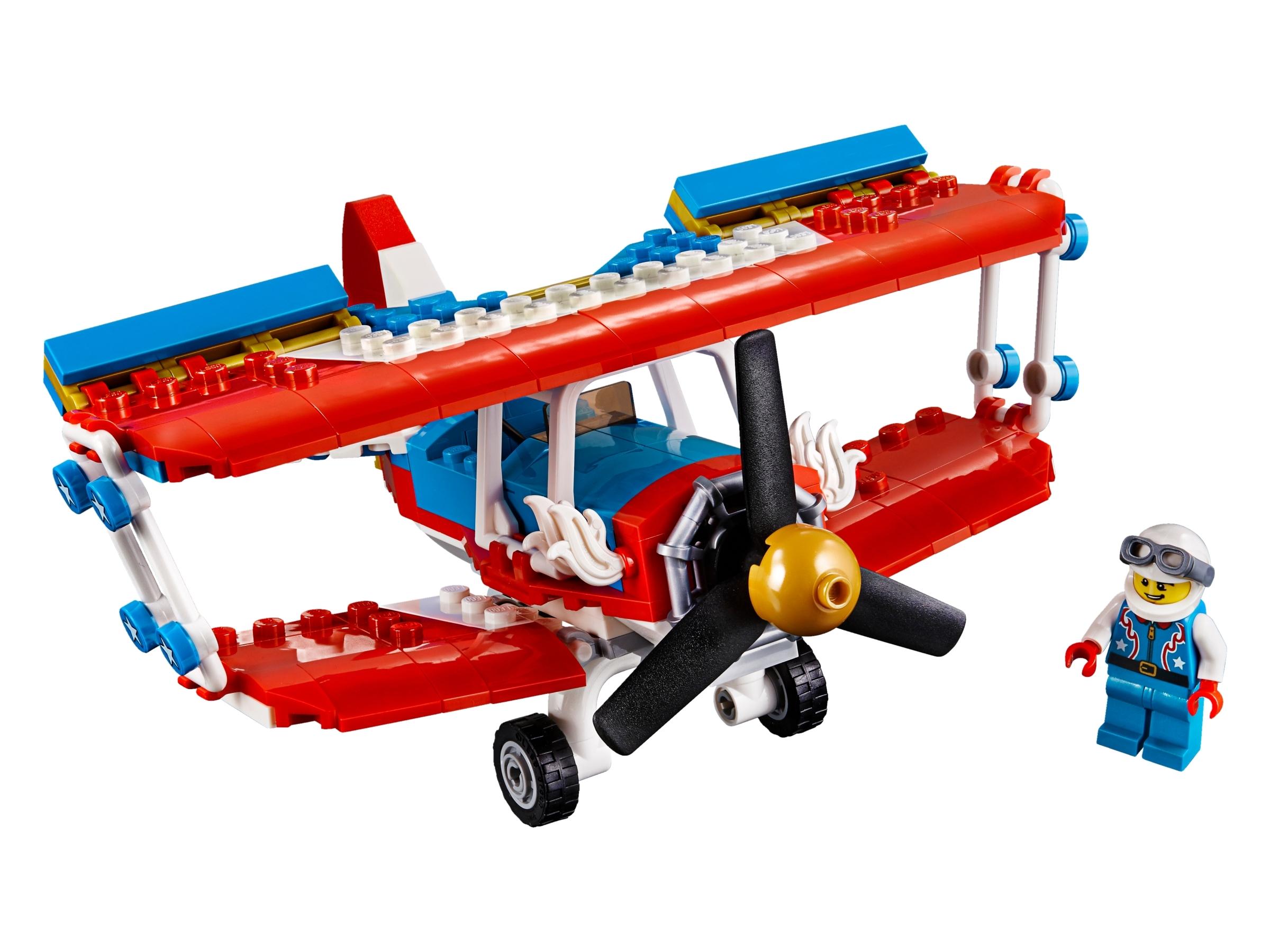 lego stuntvliegtuig 31076