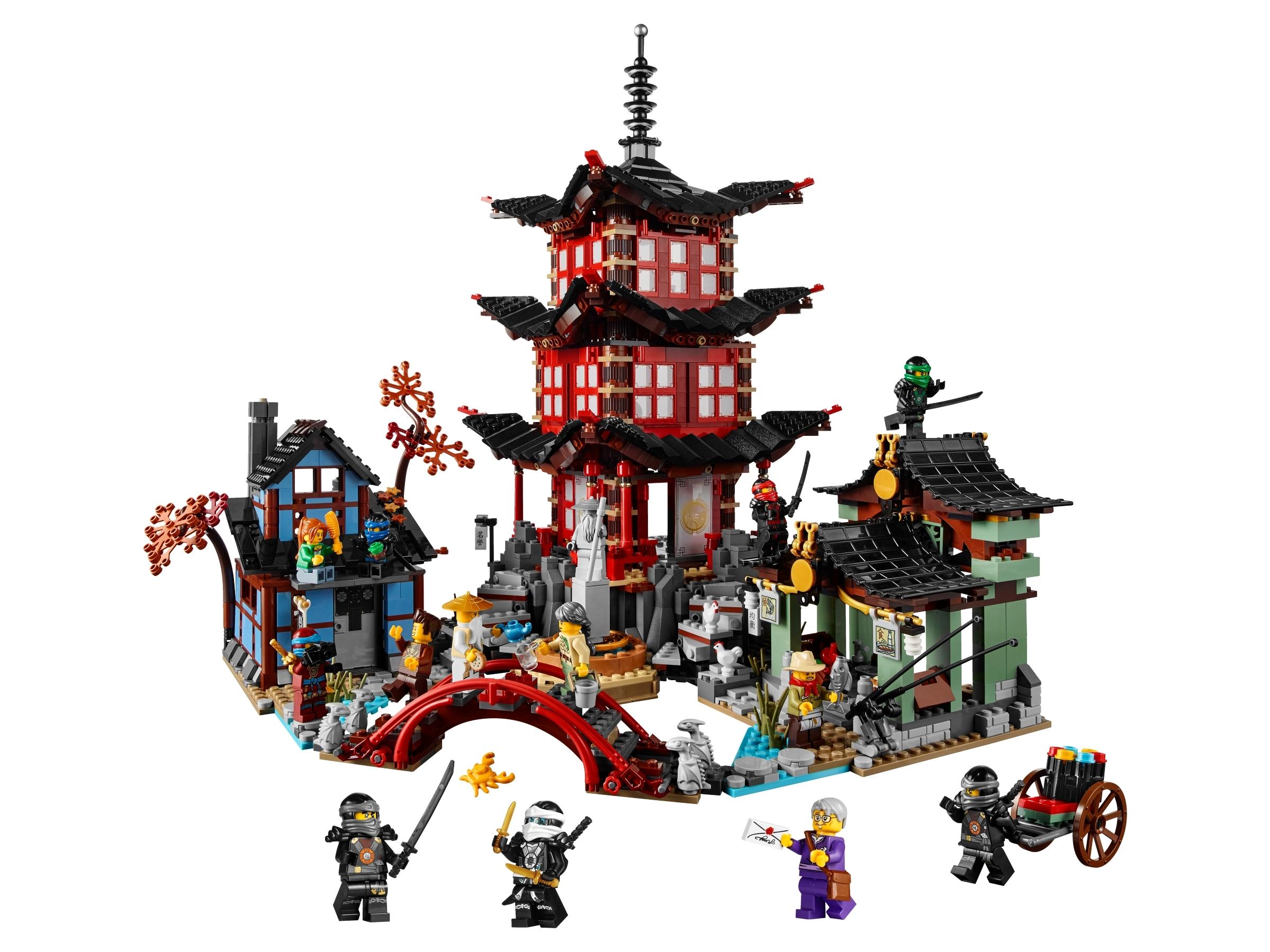lego tempel van airjitzu 70751