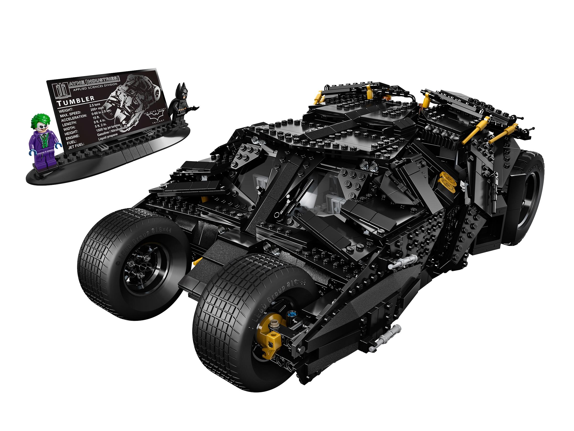 lego the tumbler 76023