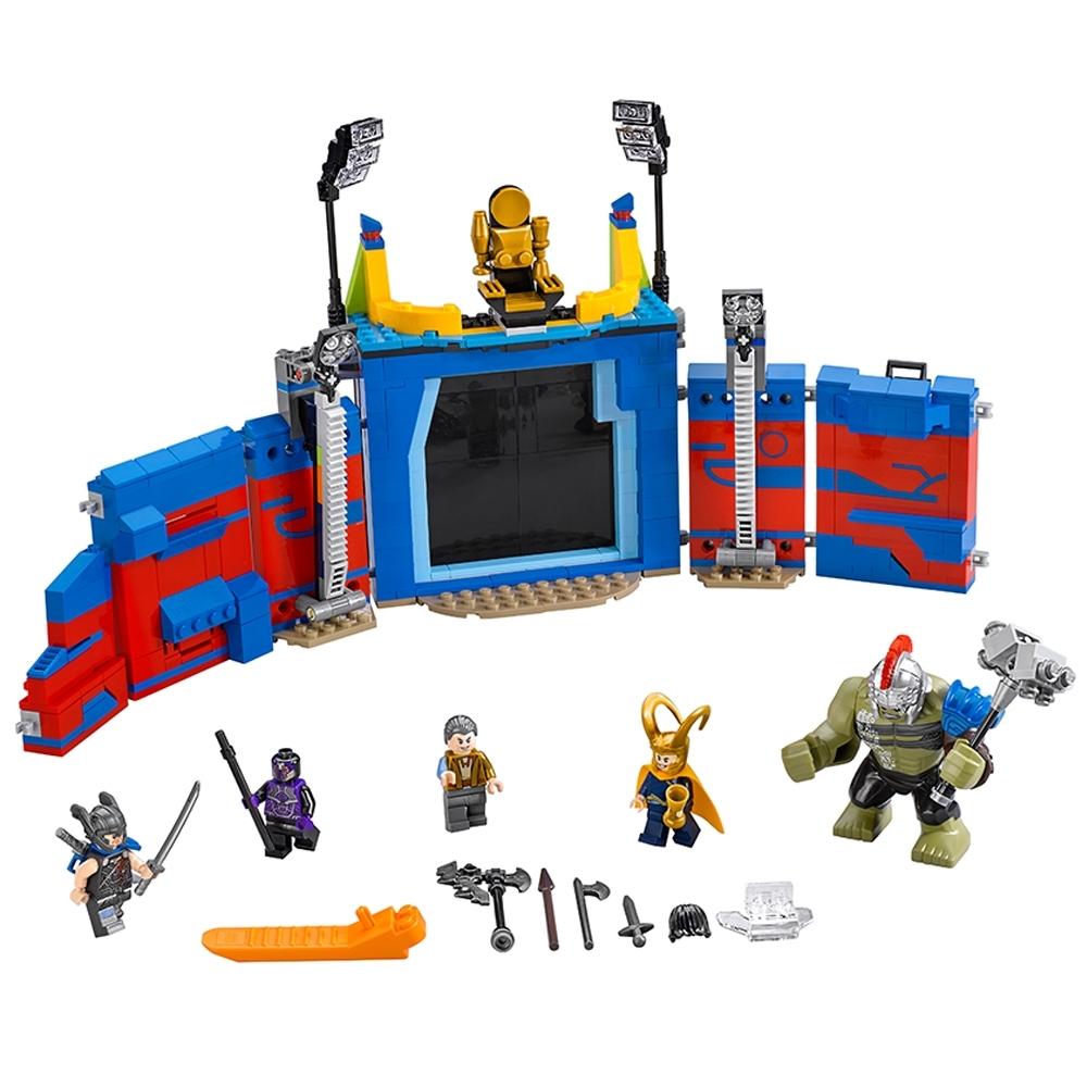 lego thor vs hulk arenagevecht 76088