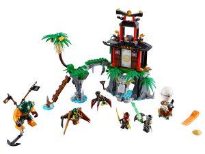 lego tiger widow eiland 70604