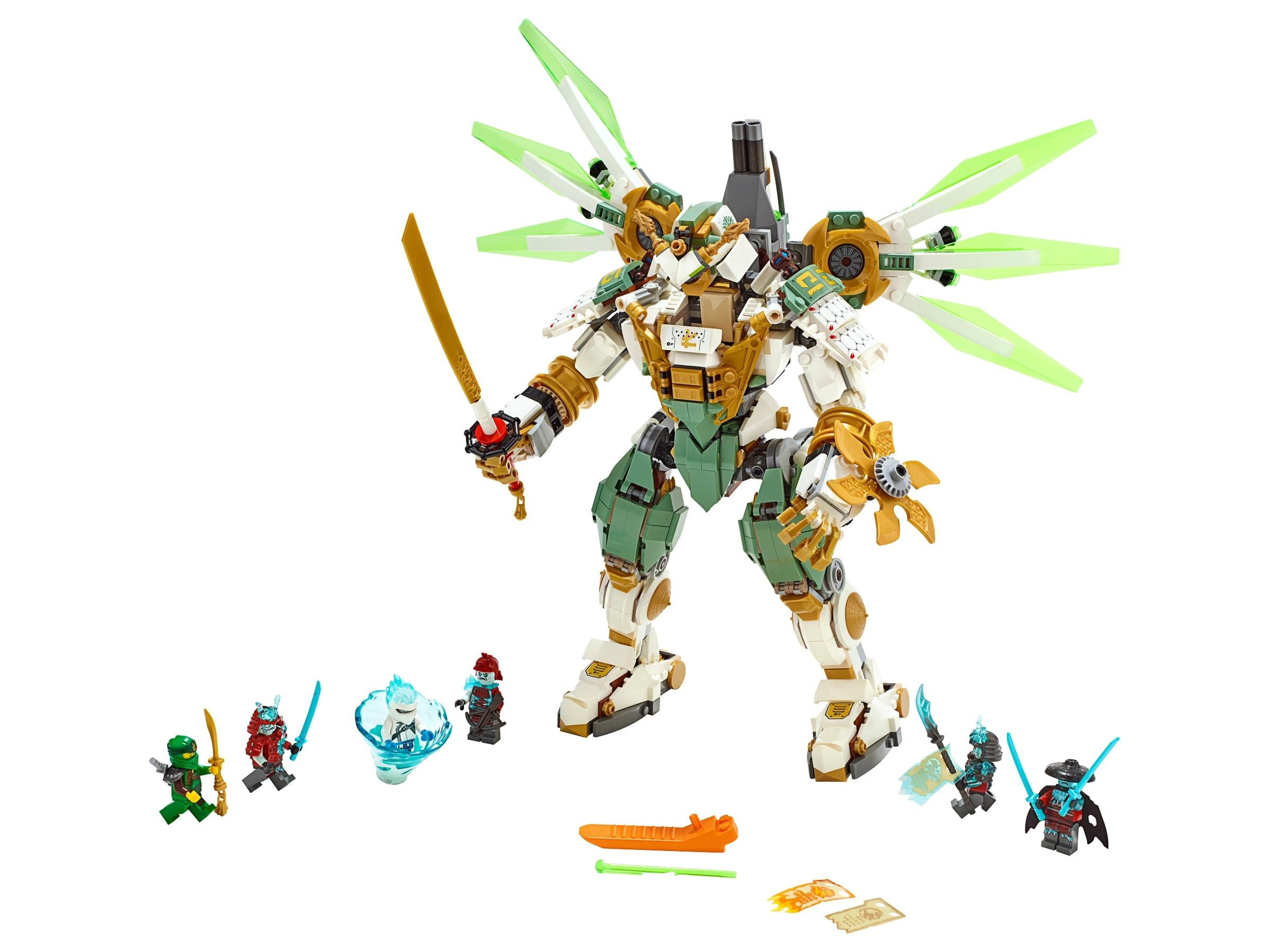 lego titanium mecha van lloyd 70676