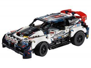 lego top gear rallyauto met app bediening 42109