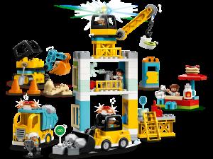 lego torenkraan bouwterrein 10933