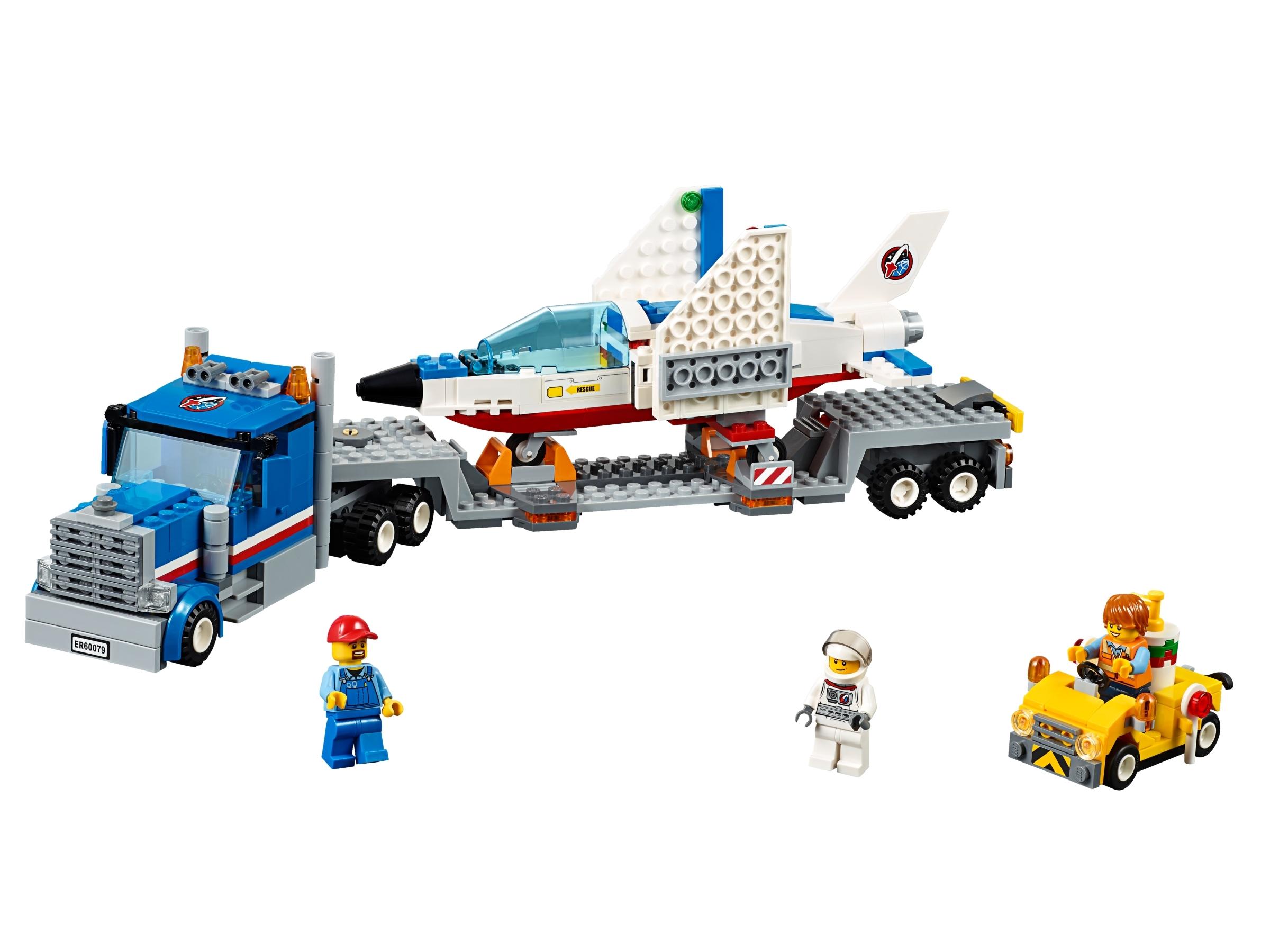 lego trainingsvliegtuig transport 60079