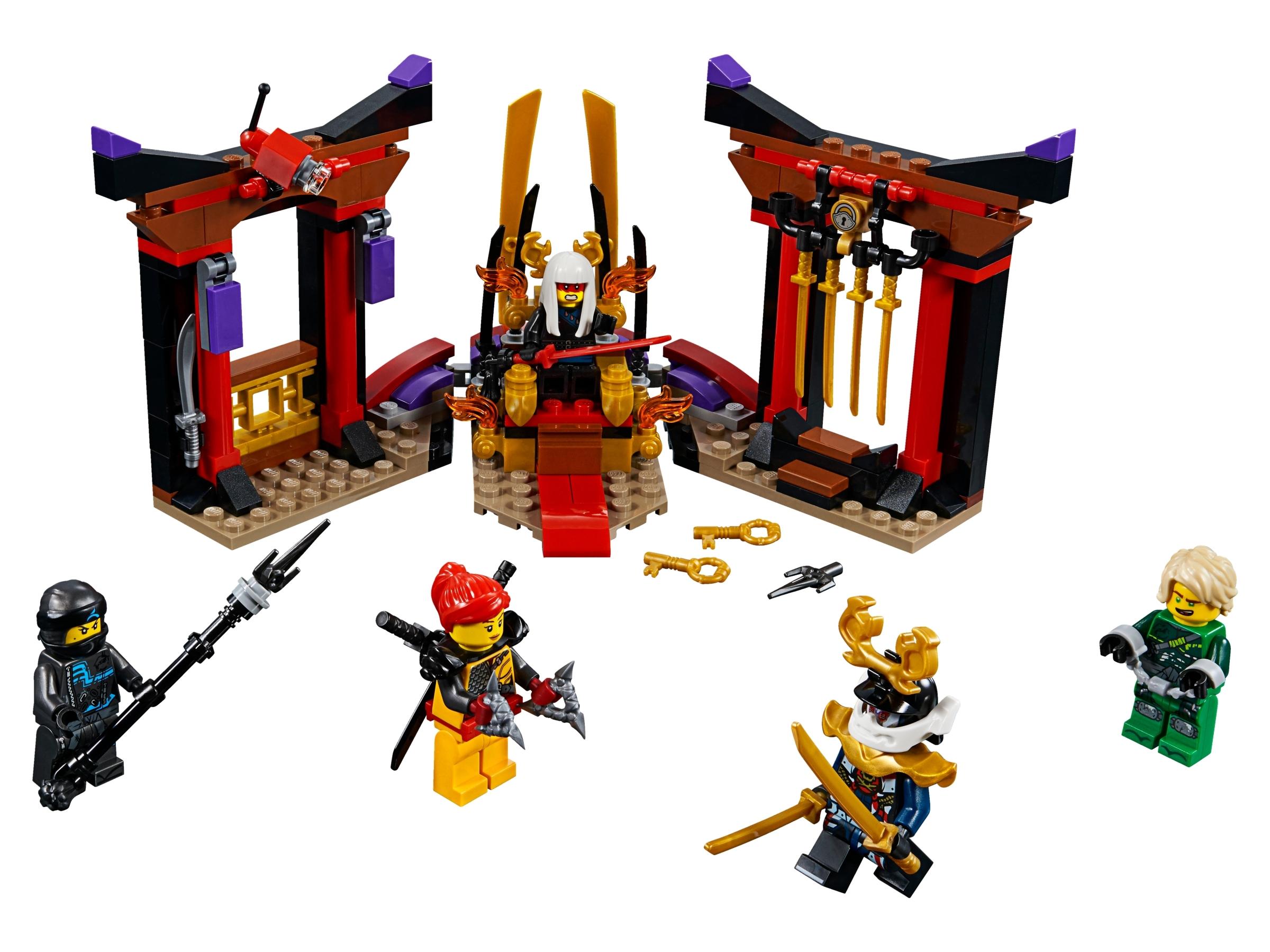 lego troonzaalduel 70651