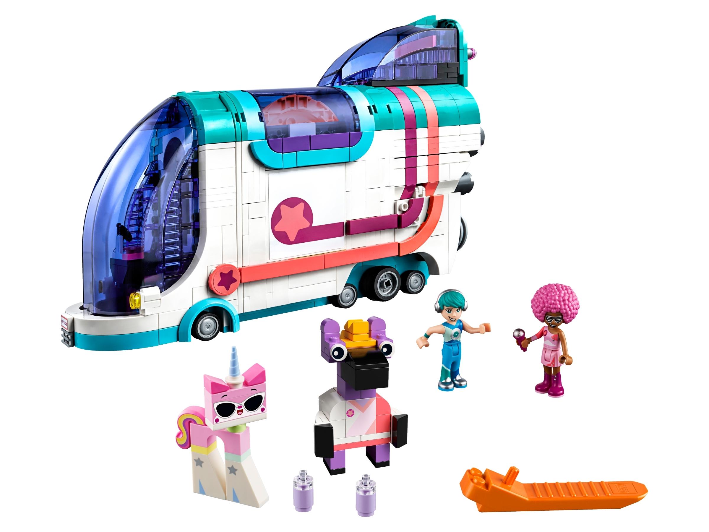 lego uitklap feestbus 70828