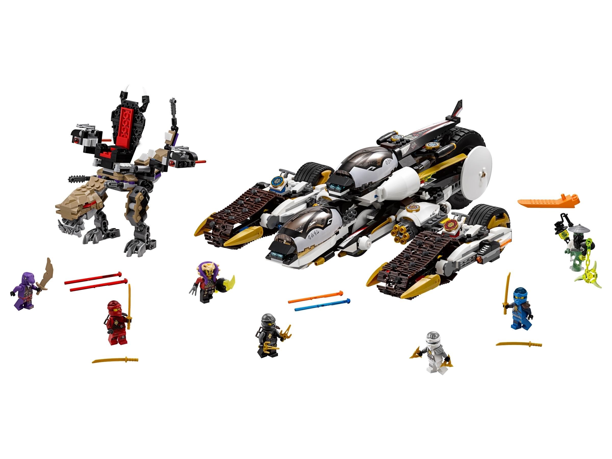 lego ultra stealth raider 70595