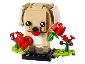 lego valentijnspuppy 40349