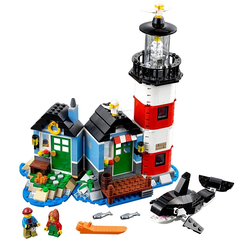lego vuurtorenkaap 31051