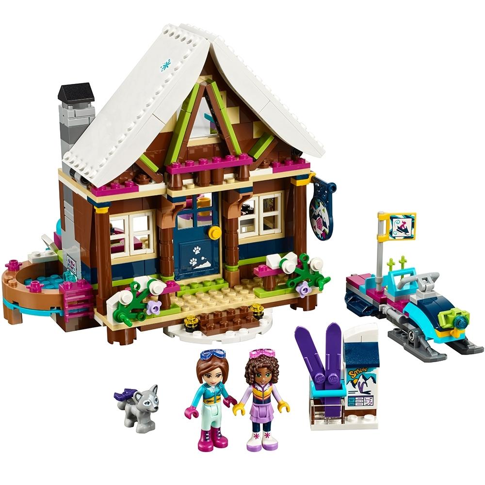 lego wintersport chalet 41323