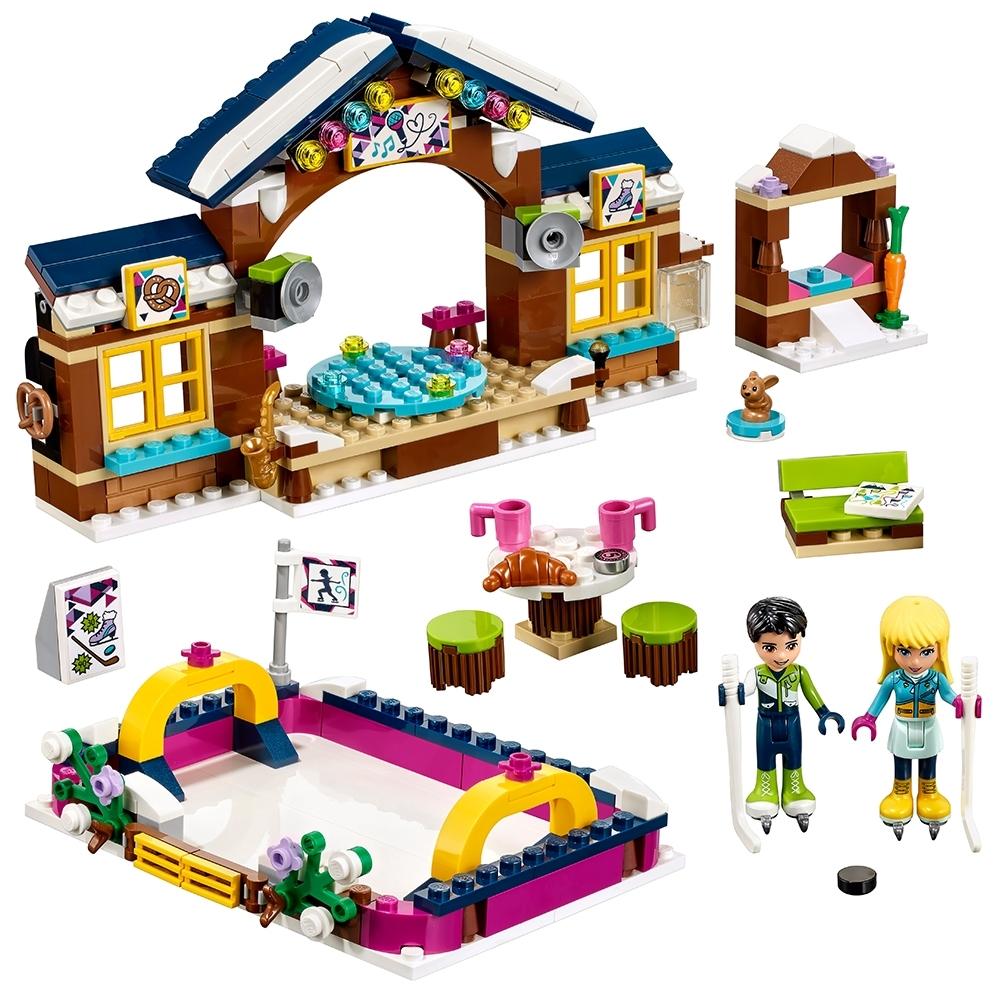 lego wintersport ijsbaan 41322