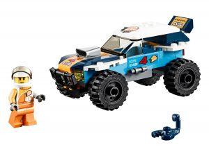 lego woestijn rallywagen 60218