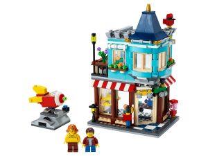 lego woonhuis en speelgoedwinkel 31105