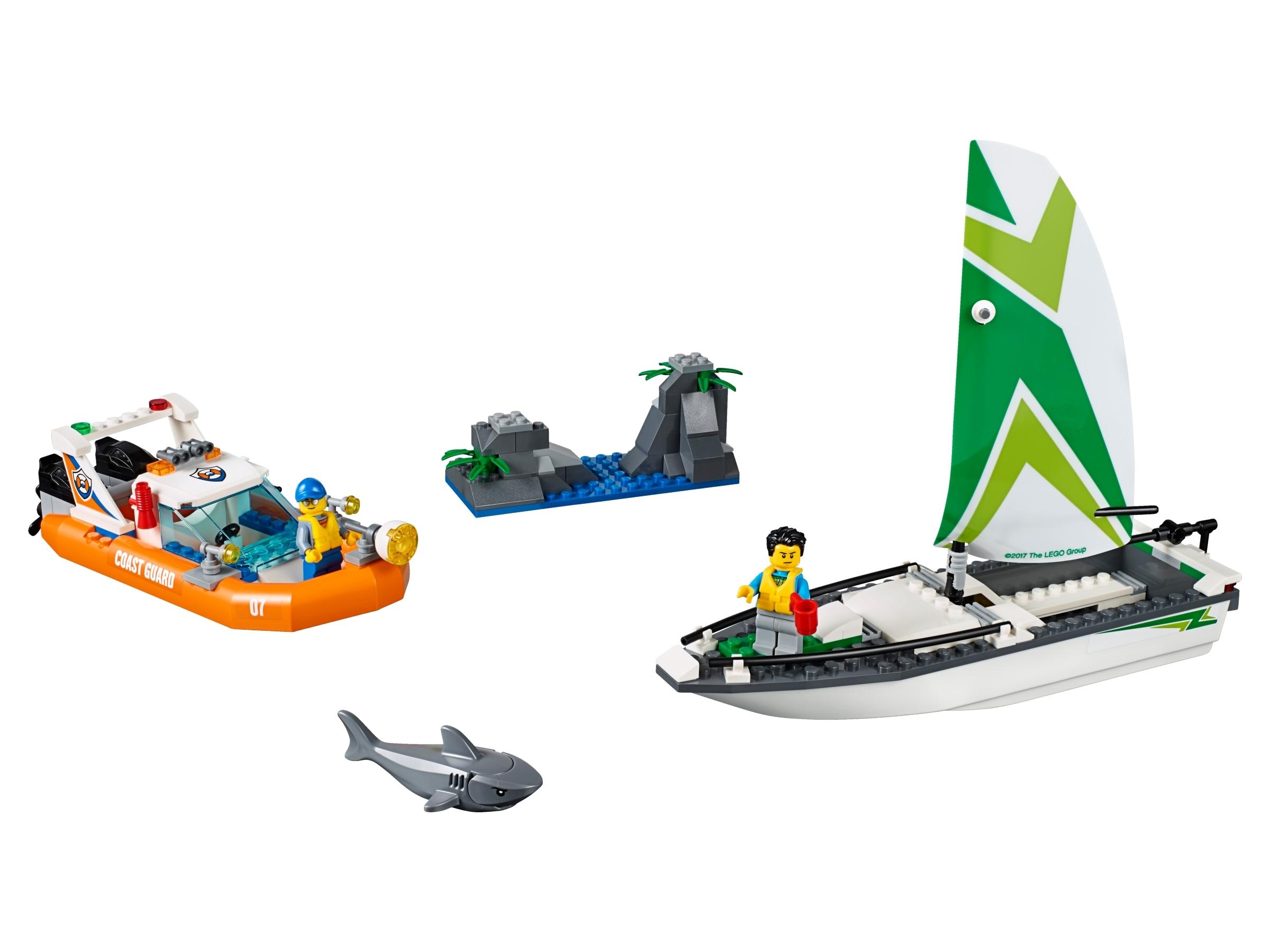 lego zeilboot reddingsactie 60168
