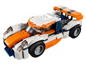 lego zonsondergang baanracer 31089