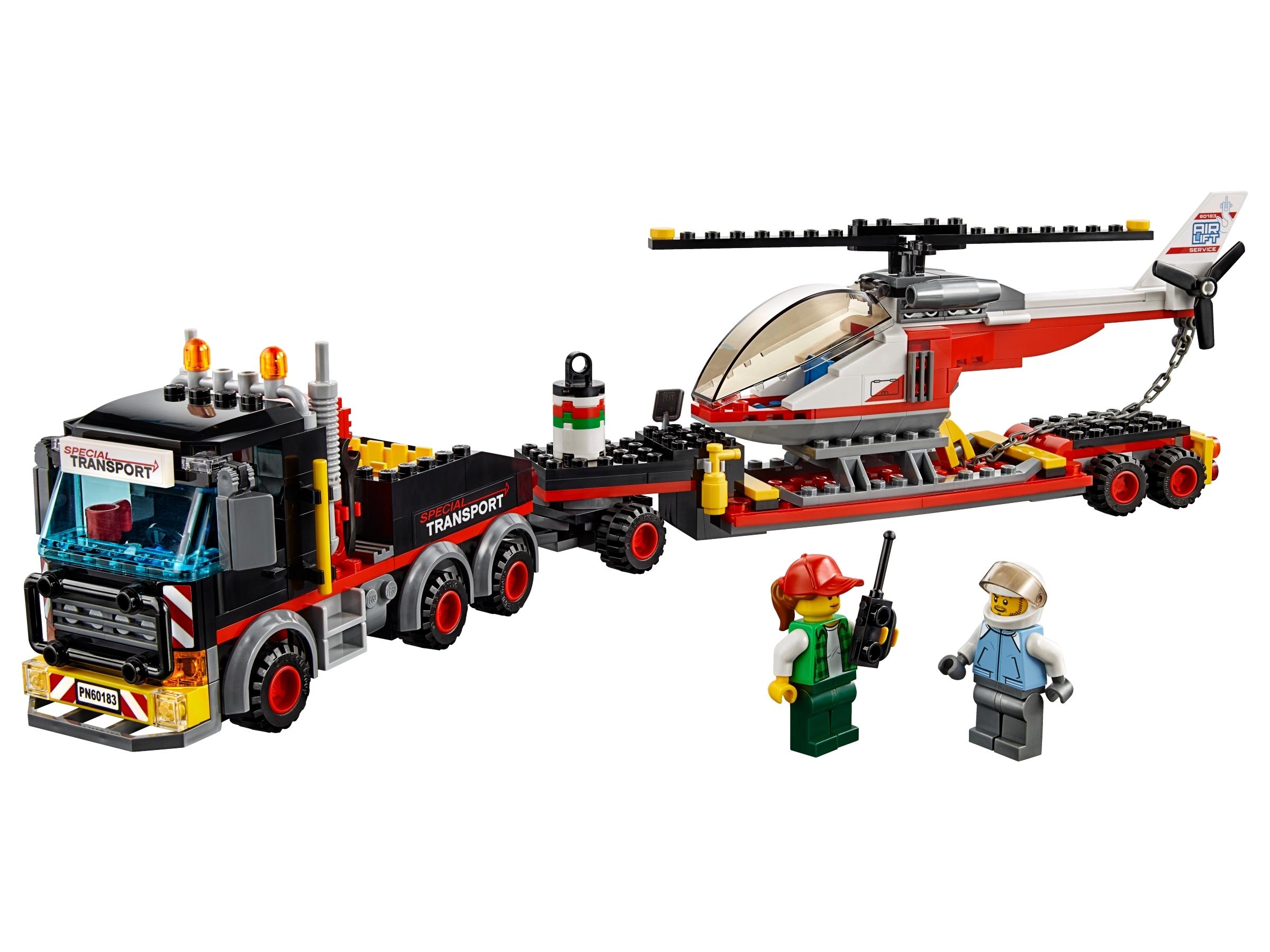 lego zware vrachttransporteerder 60183