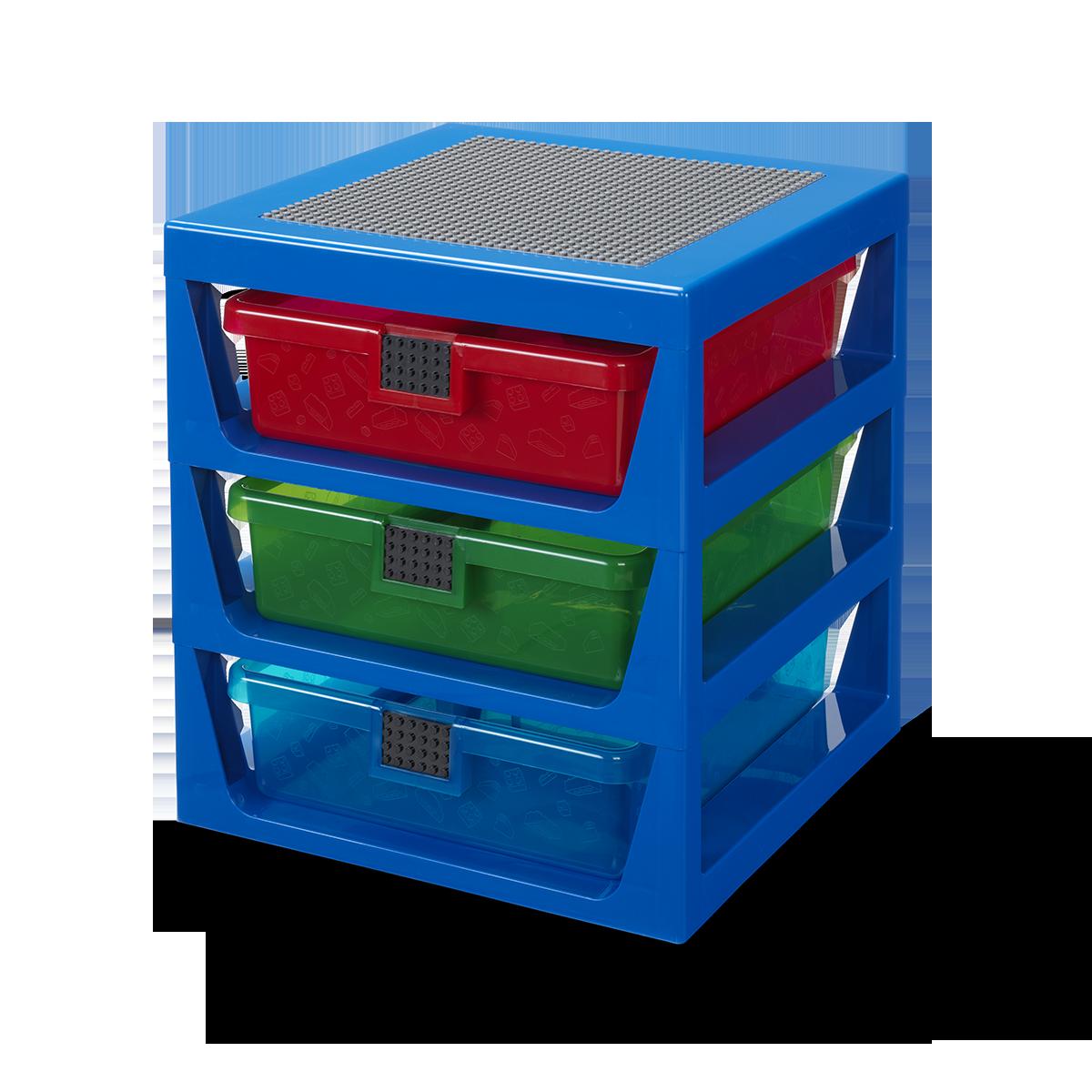 transparant blauw lego ladenblok 5006179