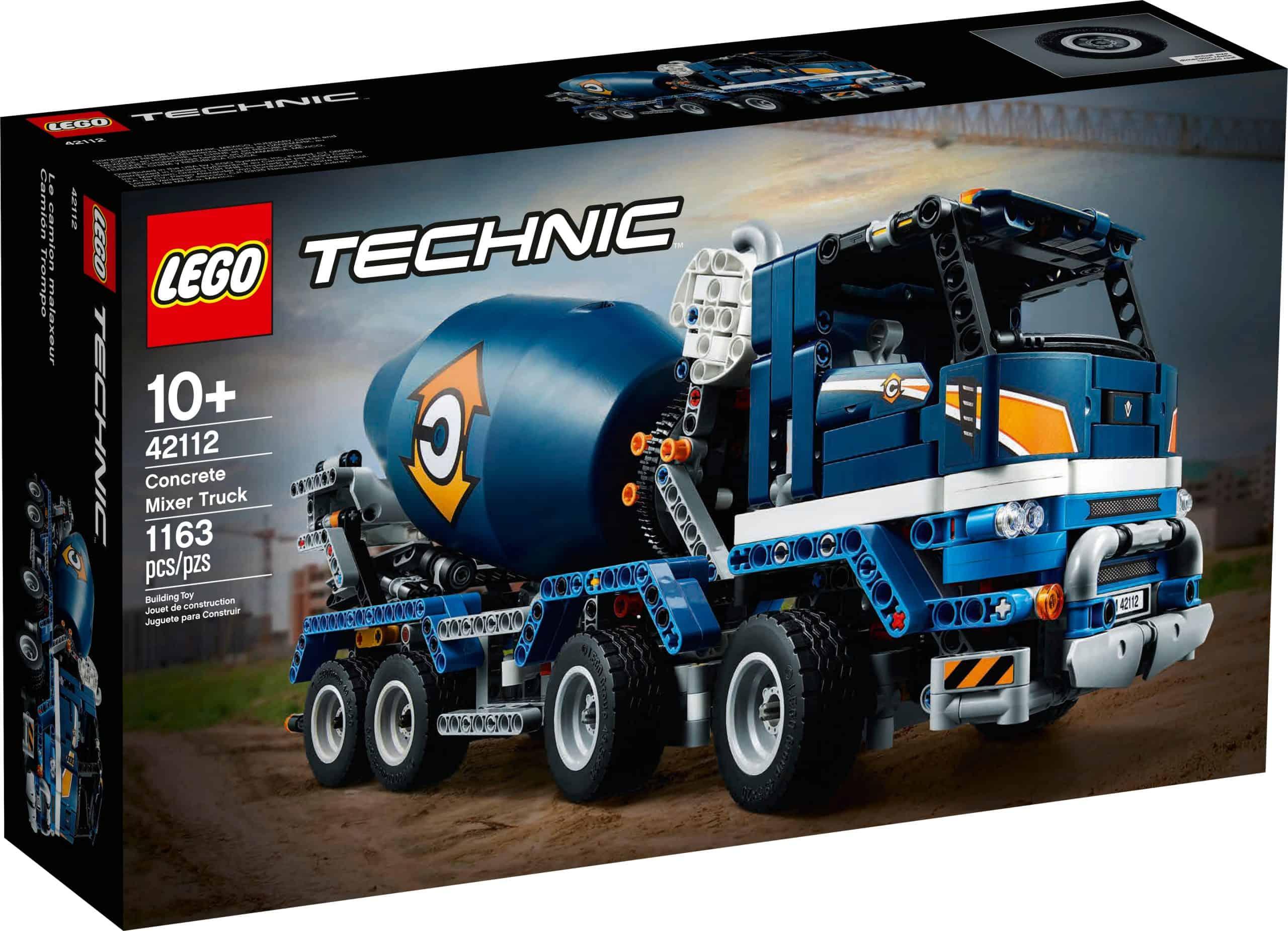 LEGO 42112 Betonmixer