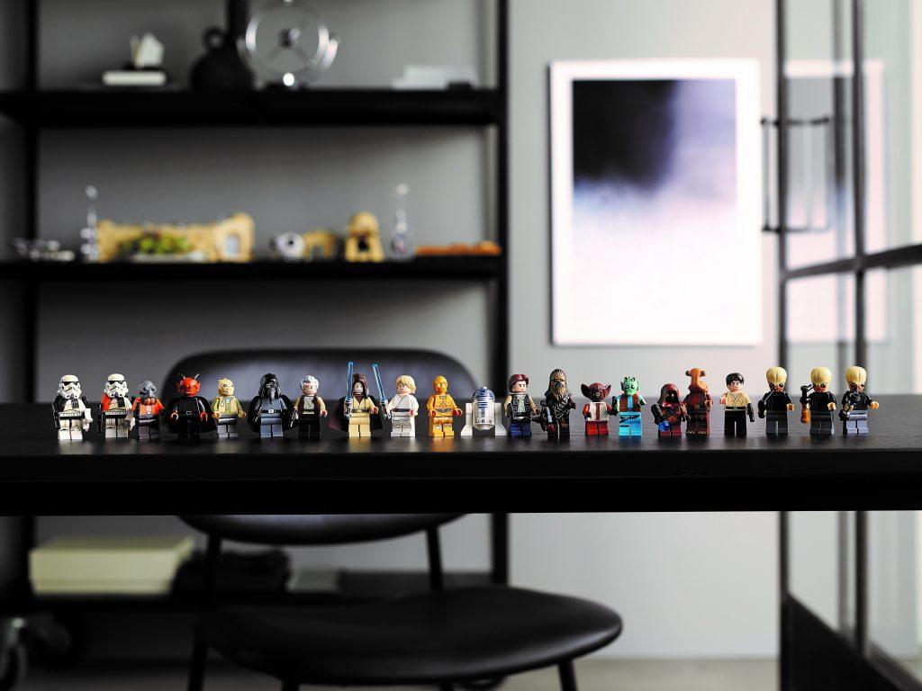 LEGO 75290 Mos Eisley Cantina - Minifigs
