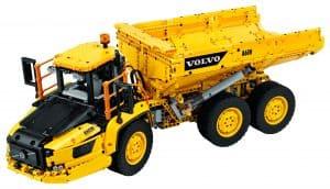 LEGO Volvo 6×6 Truck met kieptrailer 42114