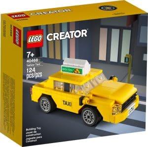 lego 40468 gele taxi