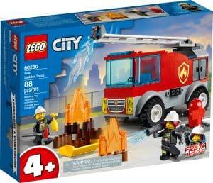 lego 60280 ladderwagen