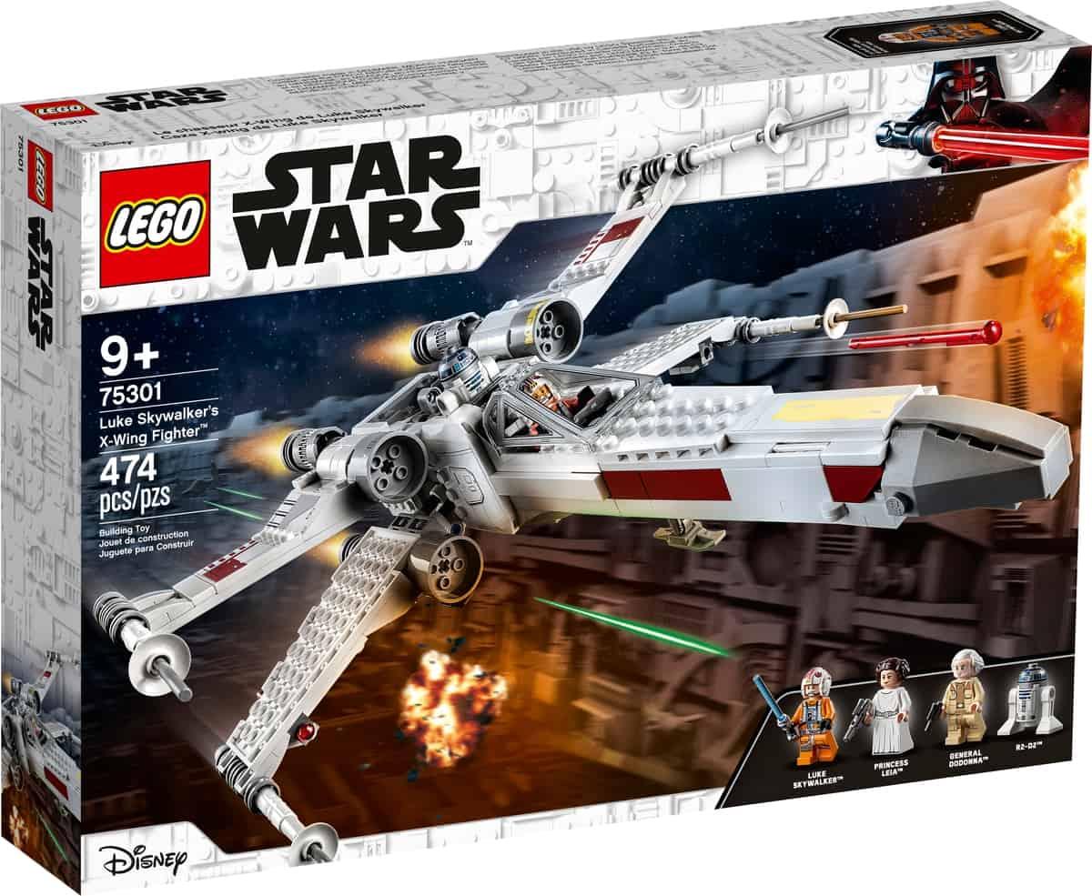lego 75301 luke skywalkers x wing fighter