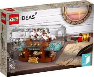 lego 92177 schip in een fles