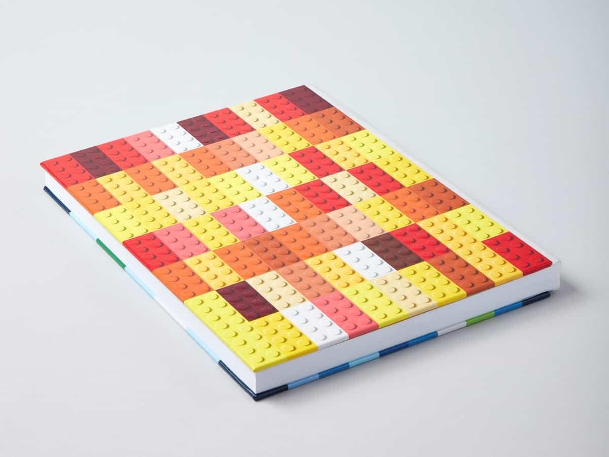 notitieboekje met opdruk van lego 5006205 stenen