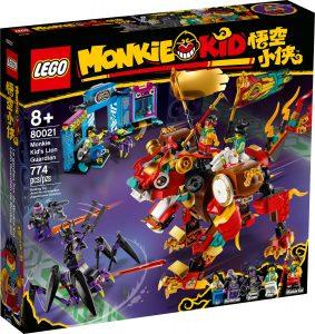 lego 80021 monkie kids leeuwenbewaker