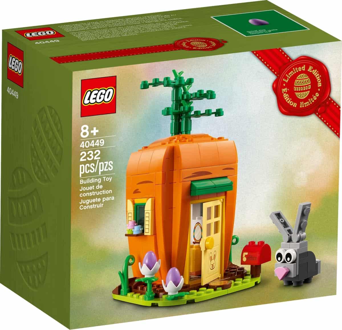 lego 40449 wortelhuisje van de paashaas